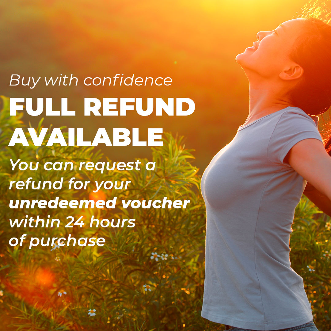 Full refund available