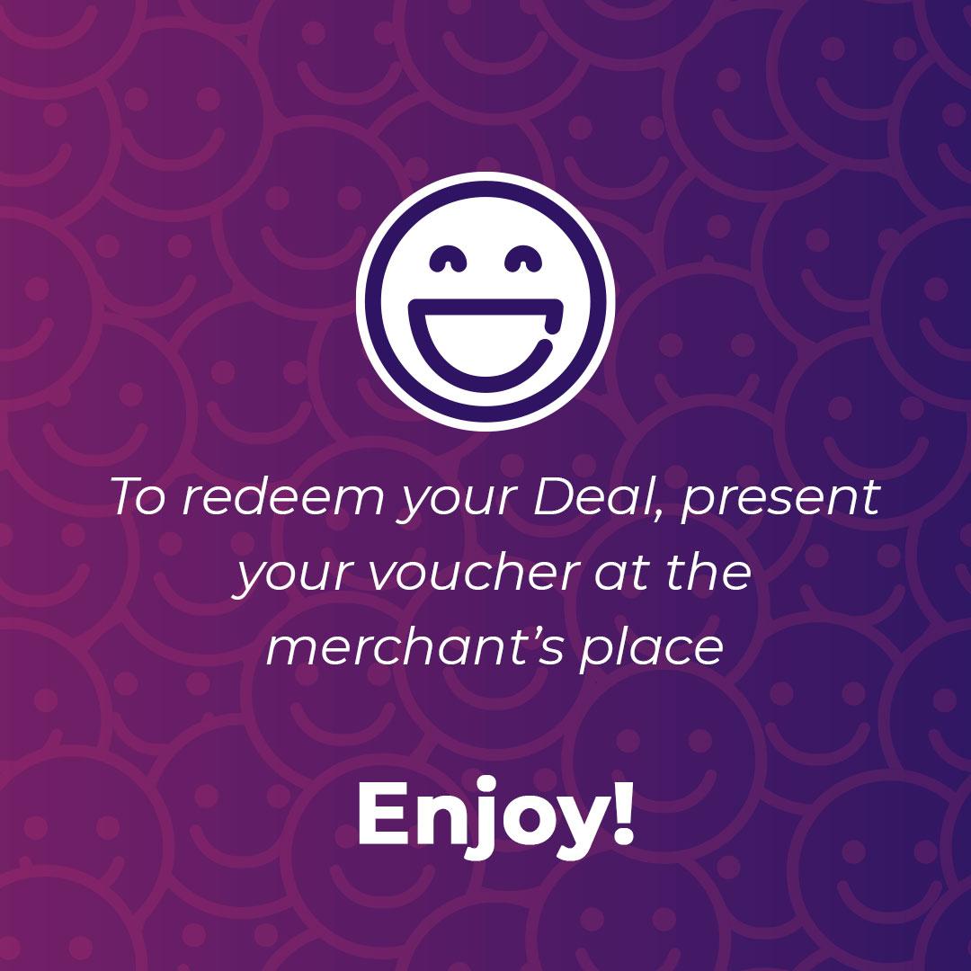 Redeem your deal