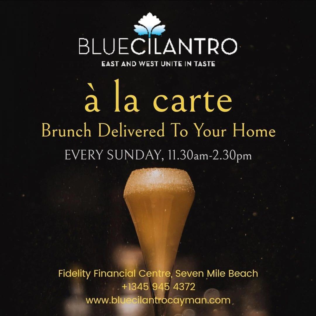 Blue Cilantro Sunday Brunch