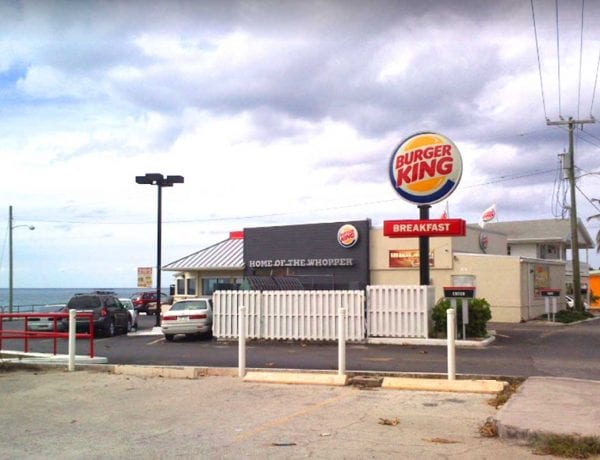 Burger King George Town Cayman Islands