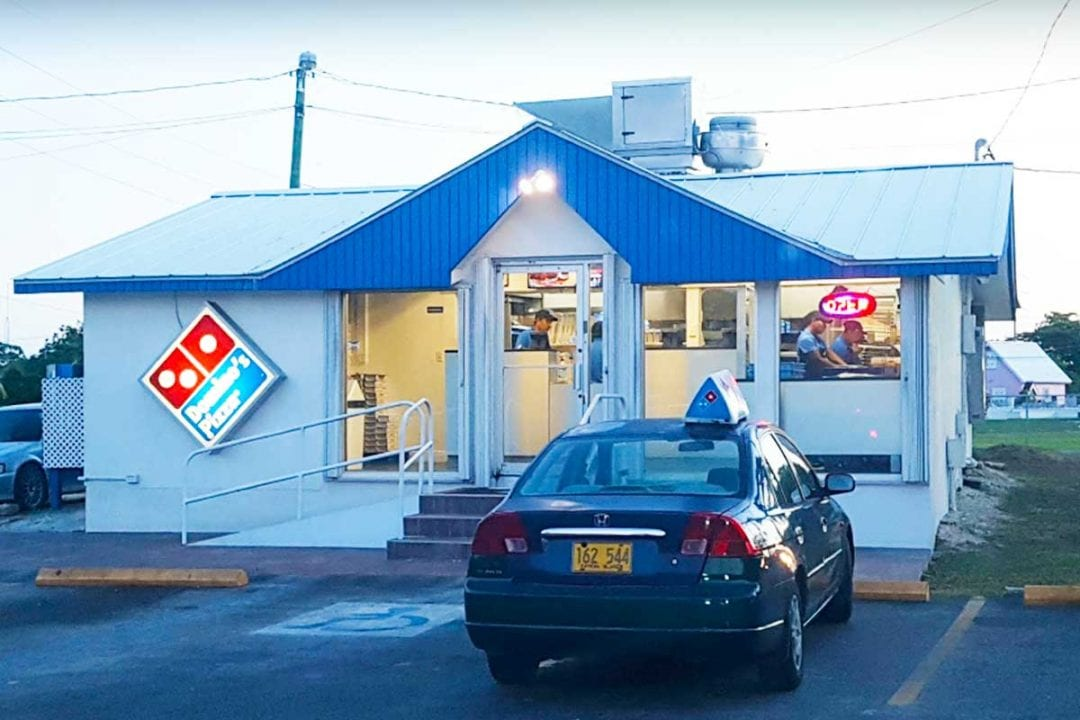 Domino's Pizza Savannah Cayman Islands