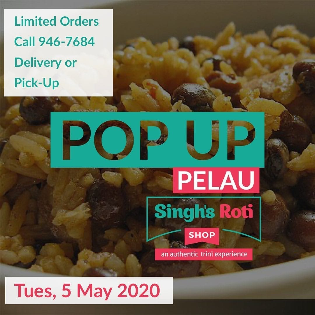 Singh's Roti Shop Special for Tue May 5th