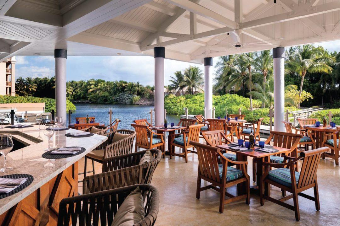 Andiamo restaurant Cayman Islands