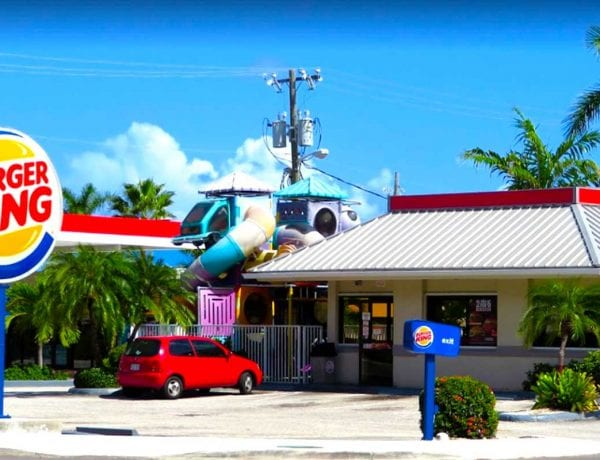 Burger King Seven Mile Beach Cayman