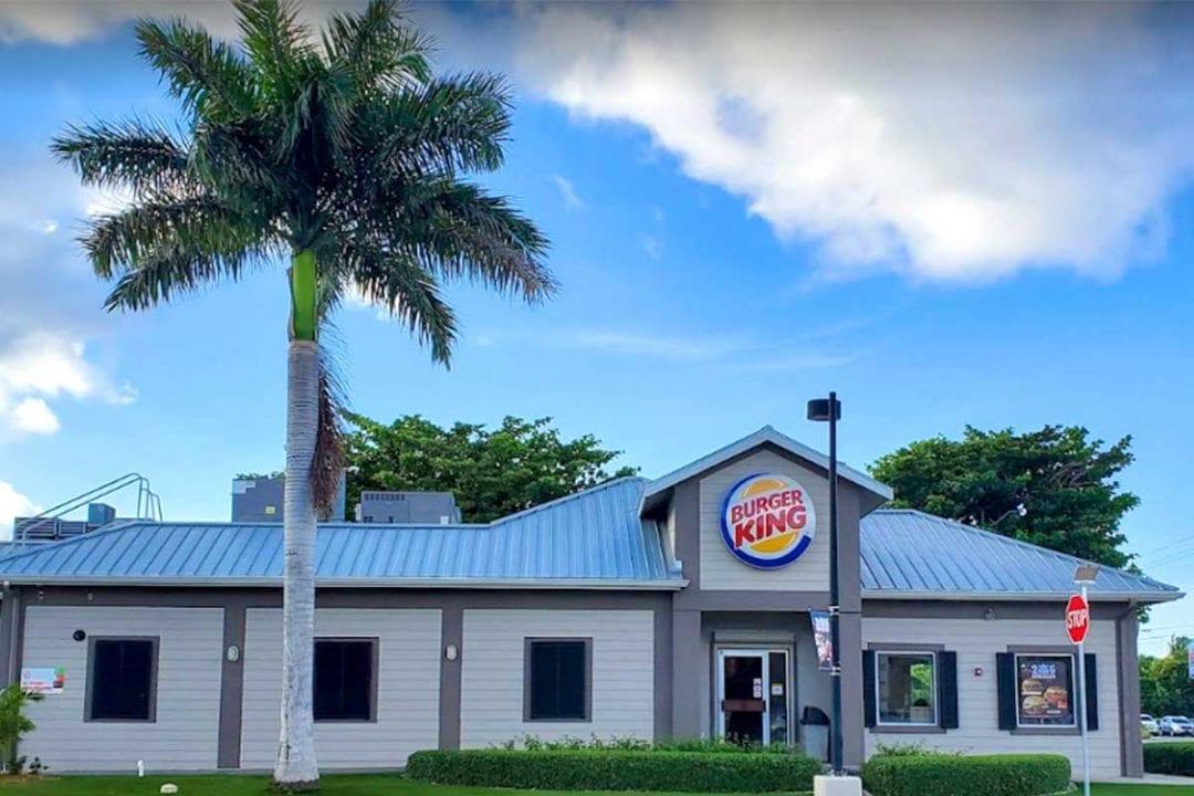 Burger King Walkers Road Cayman