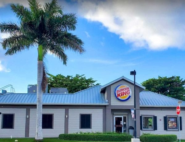 Burger King Walkers Road Cayman