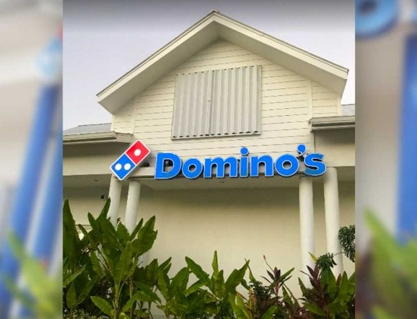 Domino's Pizza West Bay Cayman Island