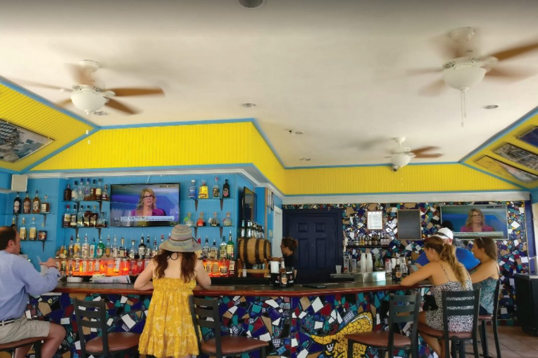Stingers Bar Cayman Islands