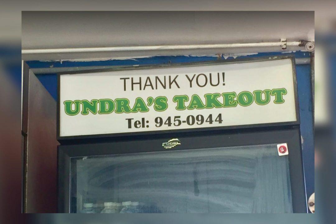 Undra's Takeout Cayman Islands