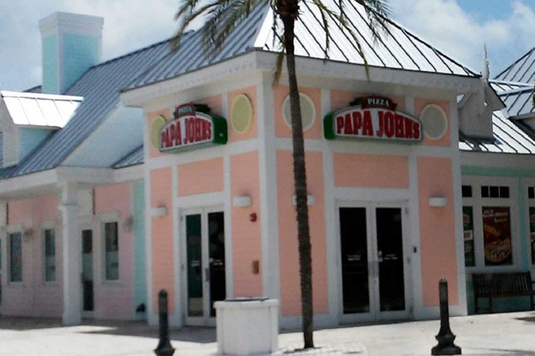 Papa John's Pizza George Town Cayman Islands