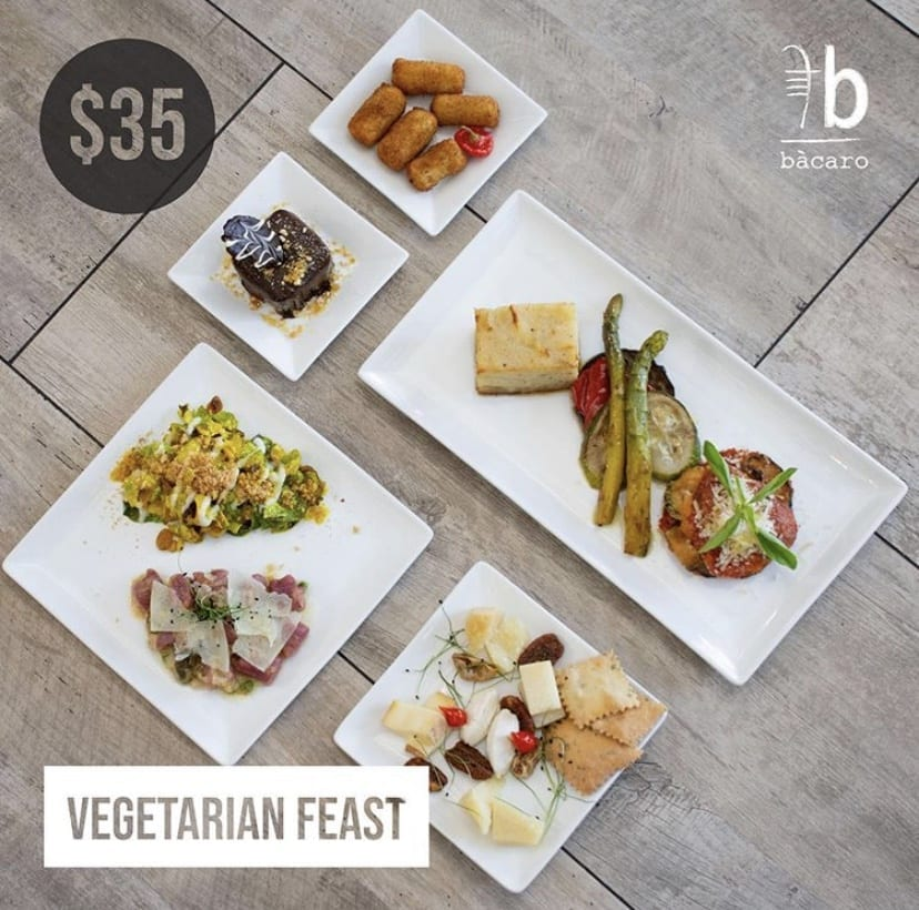 Vegetarian Feast for $35 Only this weekend!