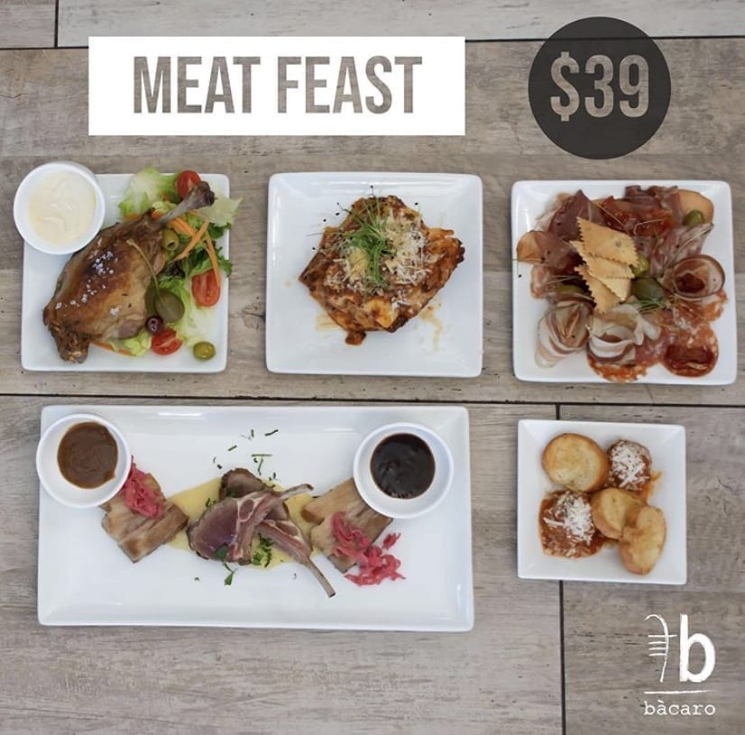Meat Feast for $39 Only this weekend!