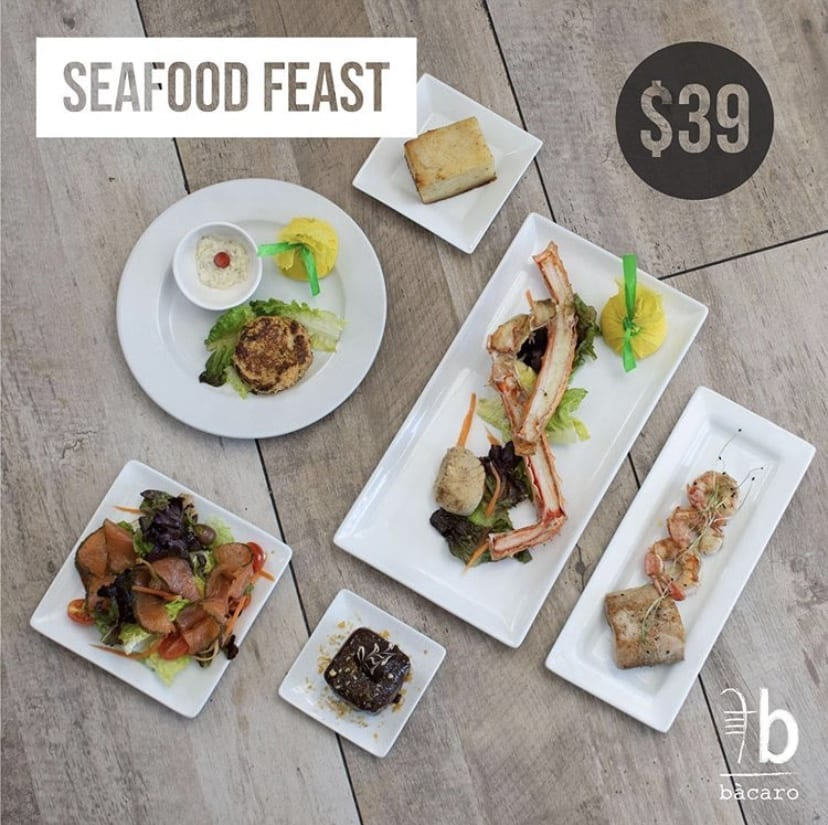 Seafood Feast for $39 Only this weekend!