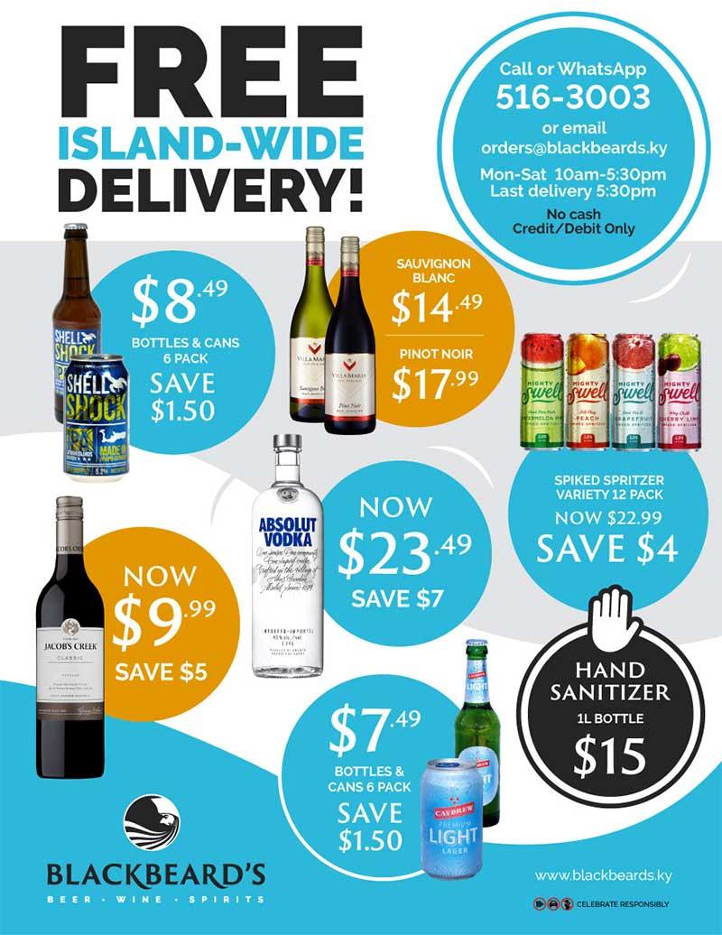 Blackbeard's Liquor Store prices page 1