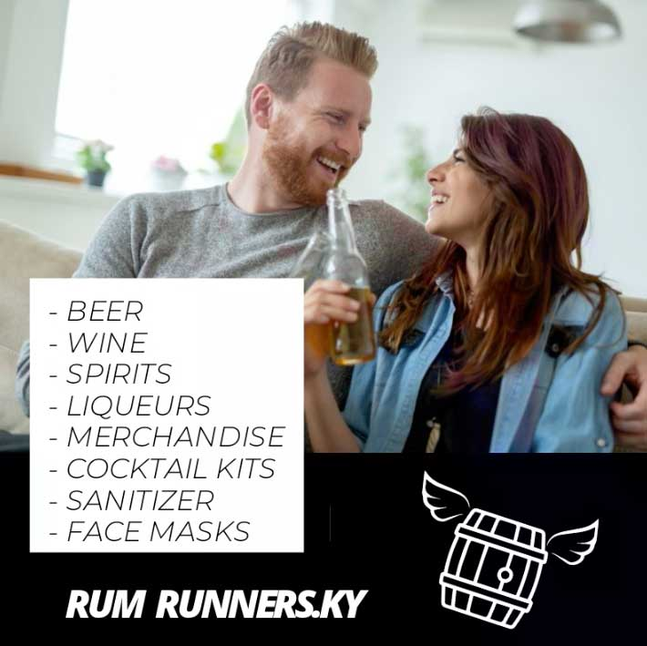 Rum Runners Cayman Spirits online shop