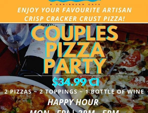 Cimboco Special Couple Pizza Party image