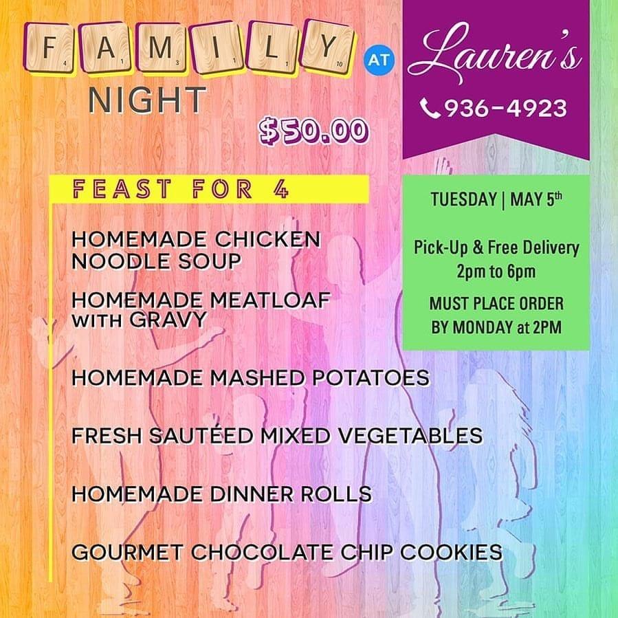 Laurents Family Night
