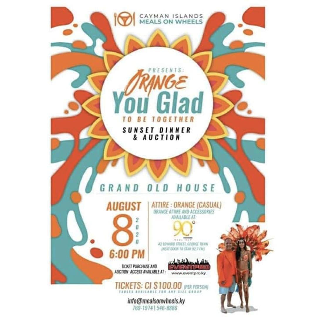 Orange You Glad ~ Sunset Dinner & Auction