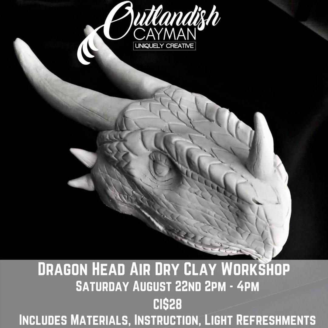 Dragon Head Air Dry Clay Workshop