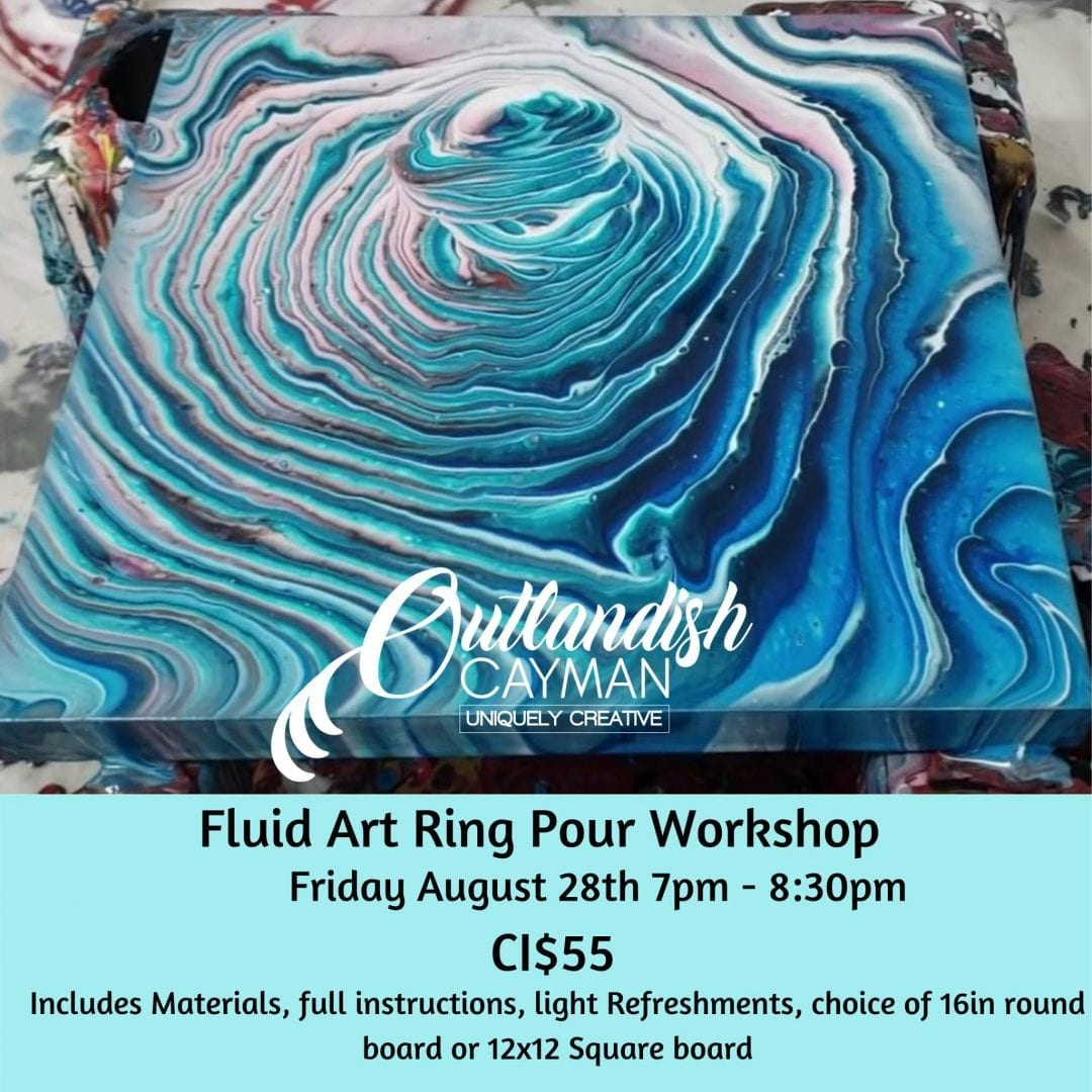 Fluid Art Ring Pour Workshop