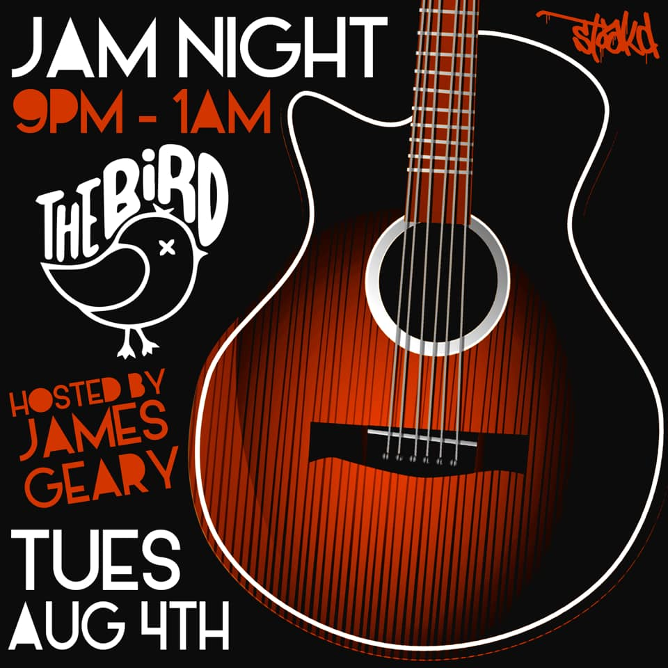 Jam Night Hosted By Mike & James