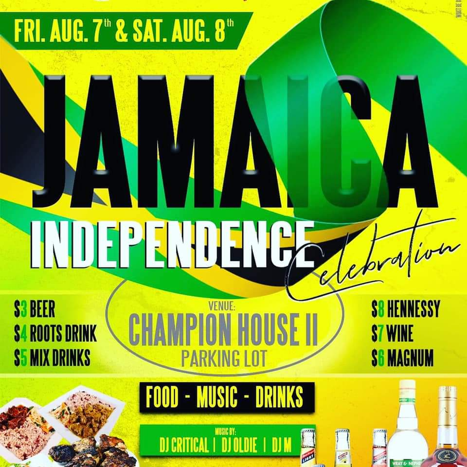 Jamaica's 58th Independence Celebration (De-Stress Weekends)