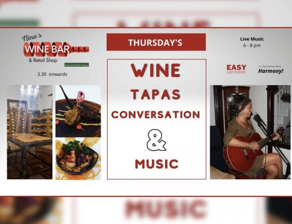 Live Music, Wine, Tapas, Conversation