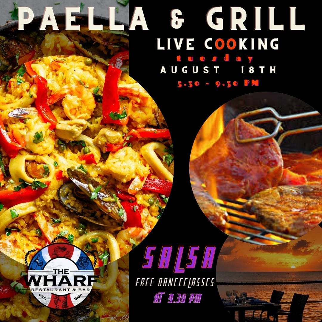 Paella & Grill Live Cooking