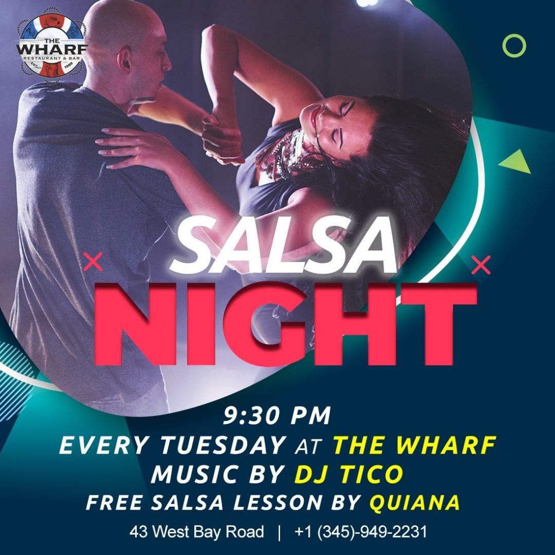 Salsa Tuesday at The Wharf