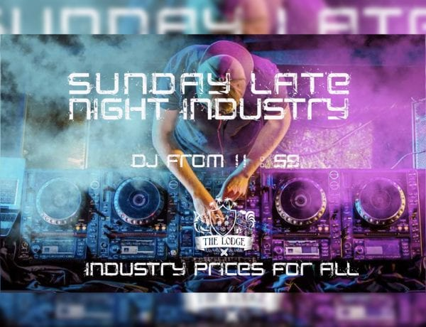 Sunday Late Night Industry