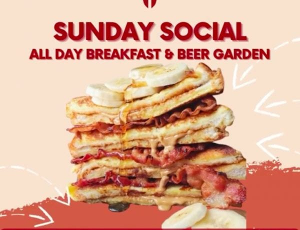 Sunday Social! All Day Breakfast & Beer Garden