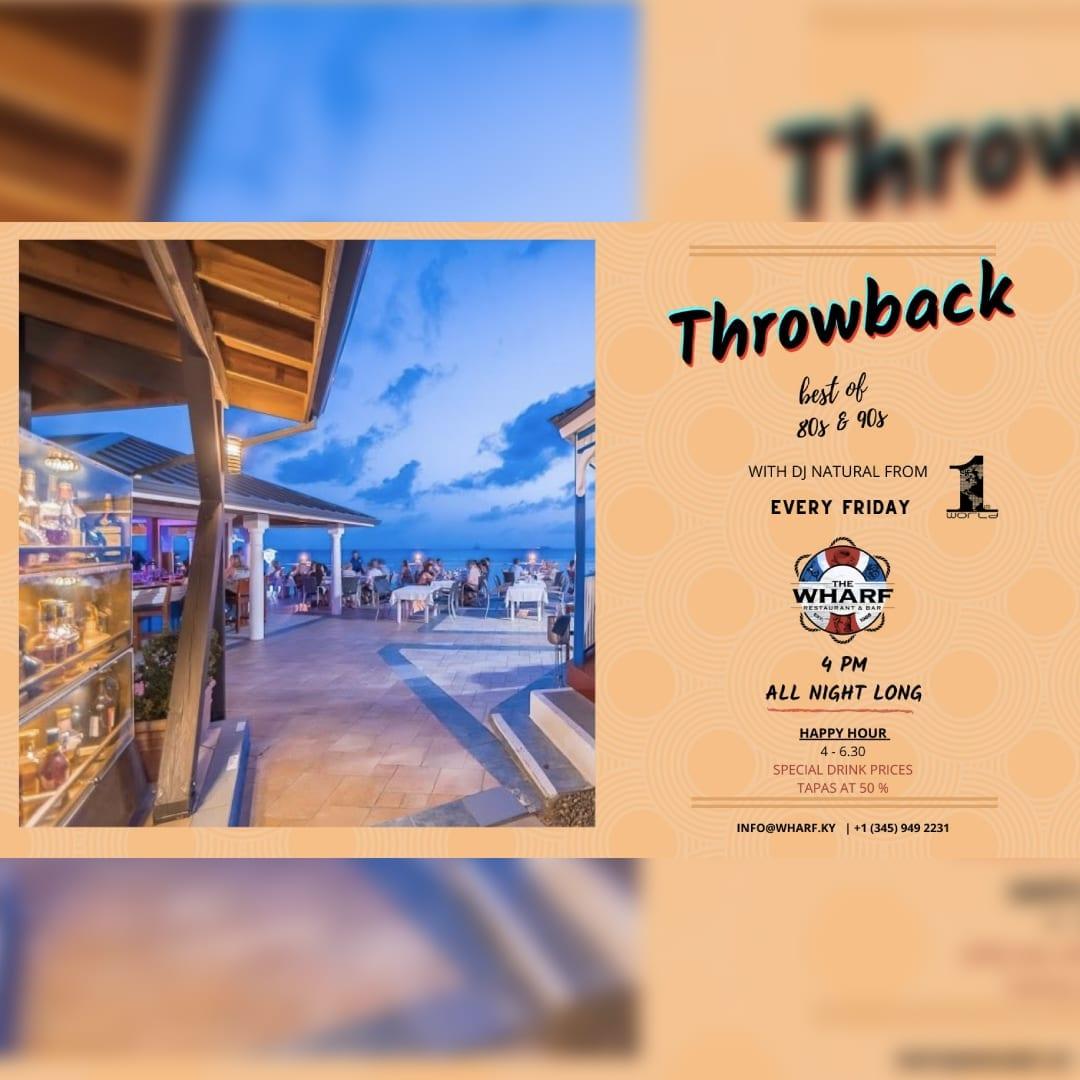 Throwback Friday at The Wharf