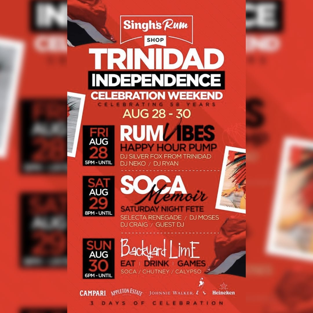 Trinidad Independence Weekend