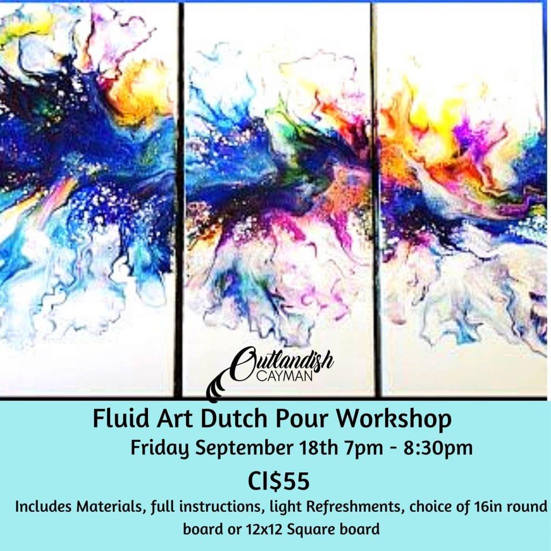 Fluid Art Workshop - Dutch Pour