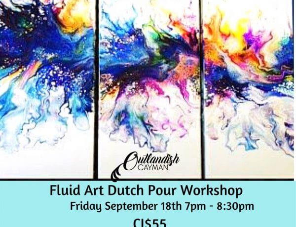 Fluid Art Workshop - Dutch Pour