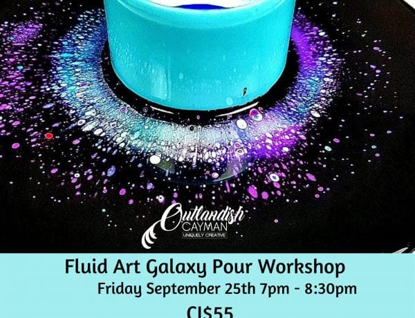 Fluid Art Workshop - Galaxy Pour