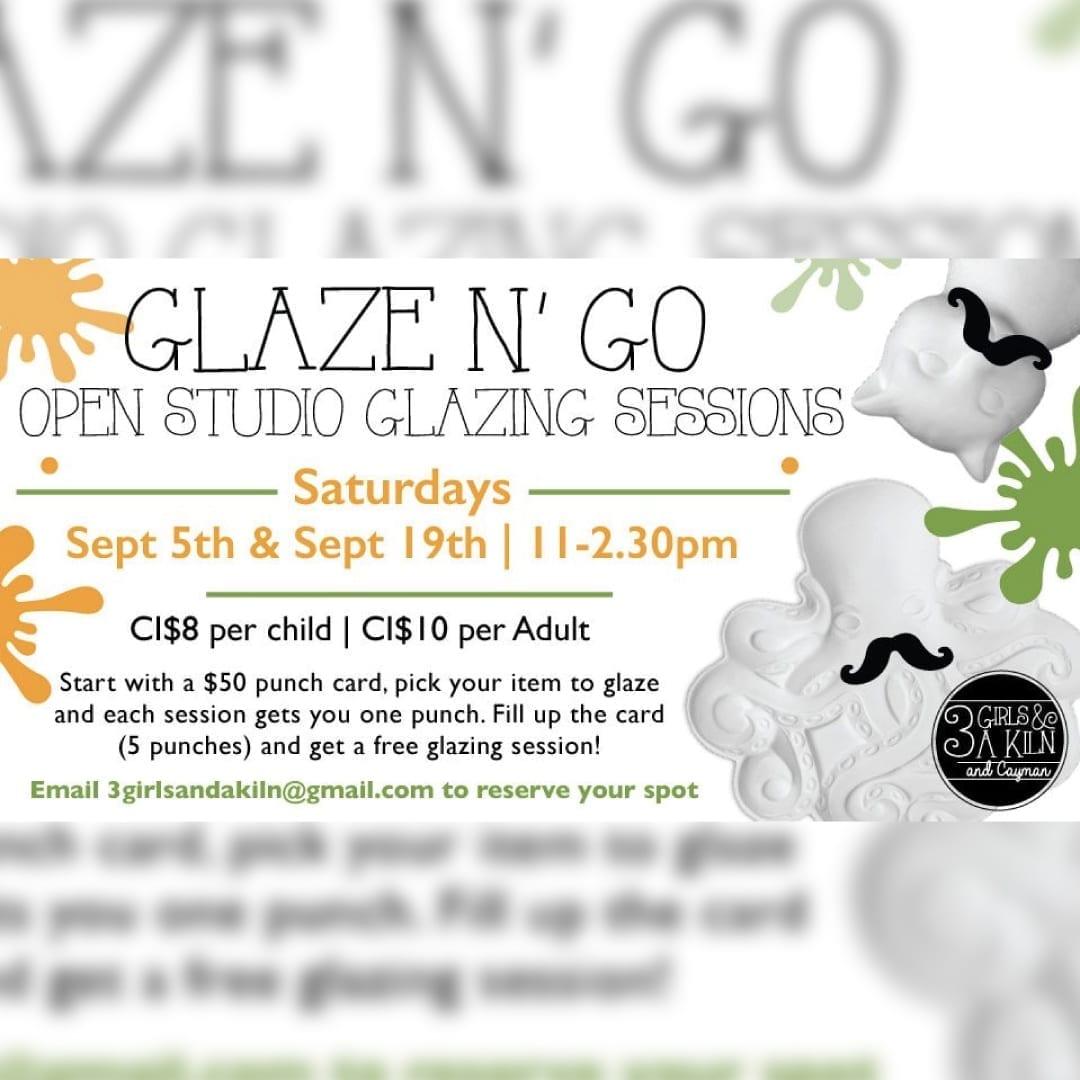 Glaze N' Go Open Studio Glazing