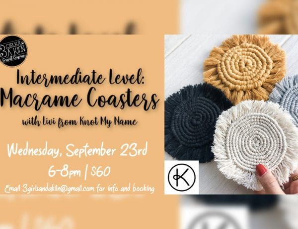 Intermediate Macrame: Coasters