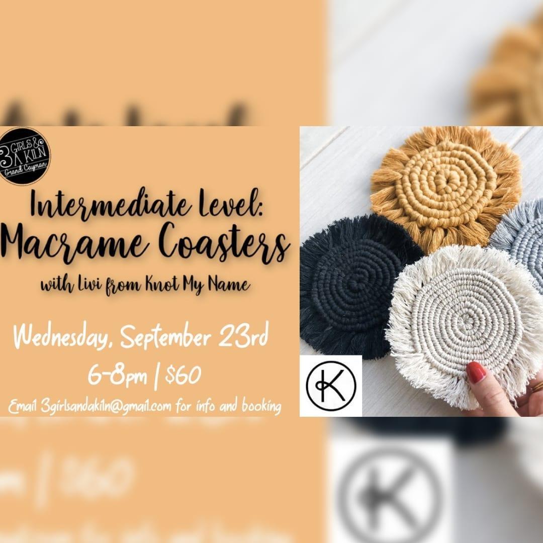 Intermediate Macrame: Coasters