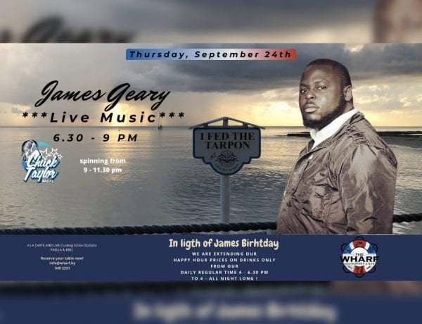 Live at The Wharf On My Birthday