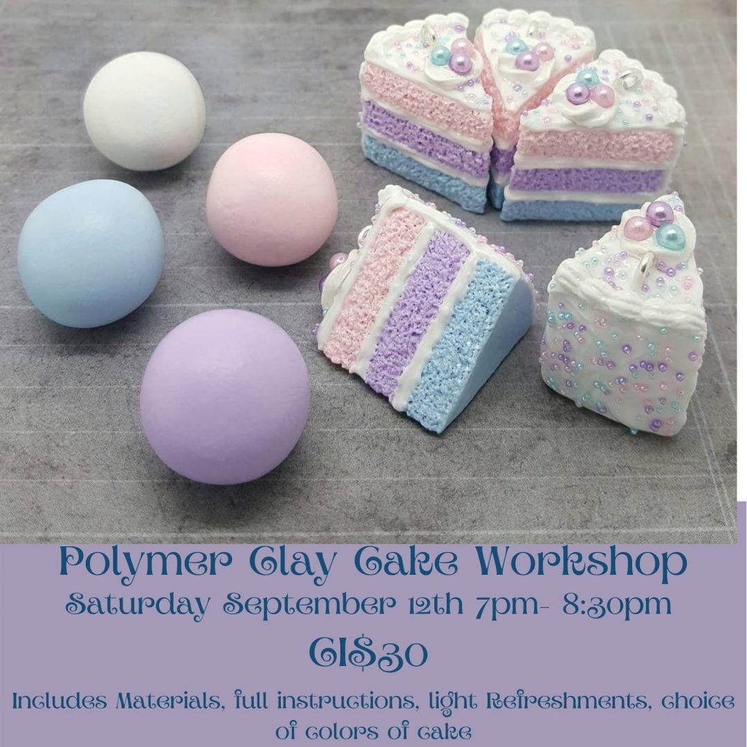 Polymer Clay Workshop - Layered Cake