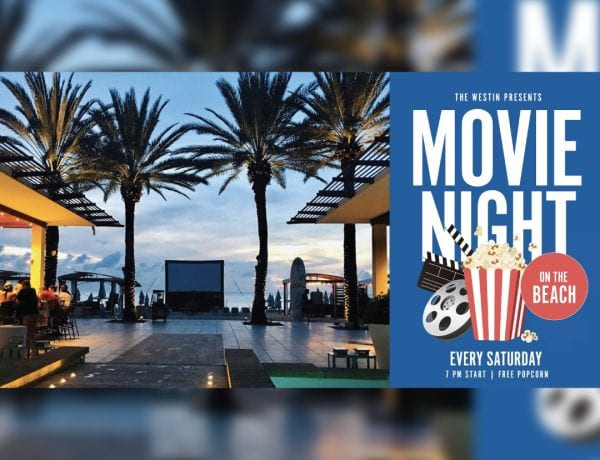 Seven Mile Beach Movie Night