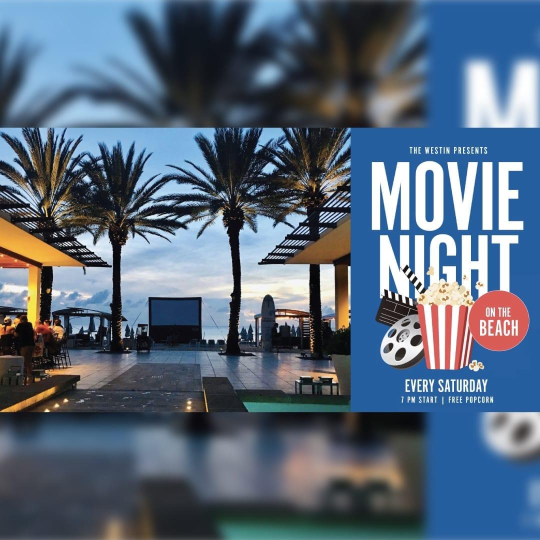 Seven Mile Beach Movie Night