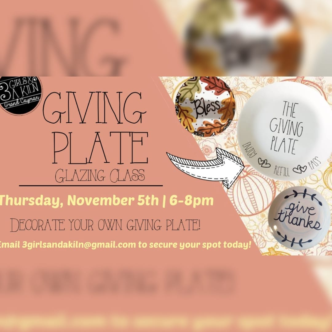 Giving Plate Glazing Event
