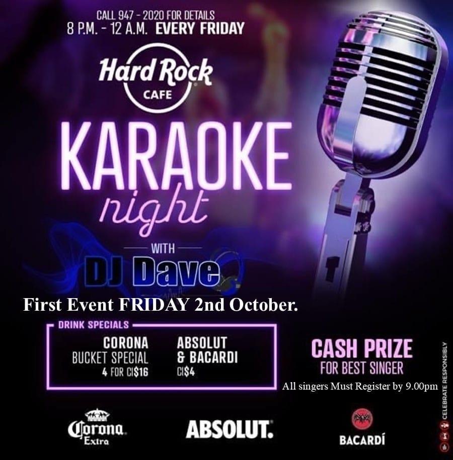Karaoke Night At Hard Rock Cafe