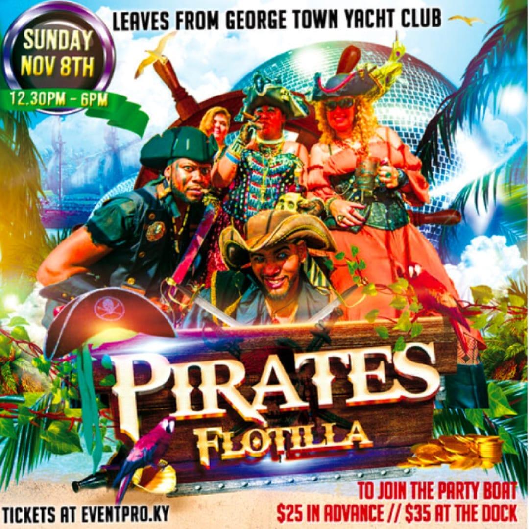Pirates Week Flotilla and Party Boat