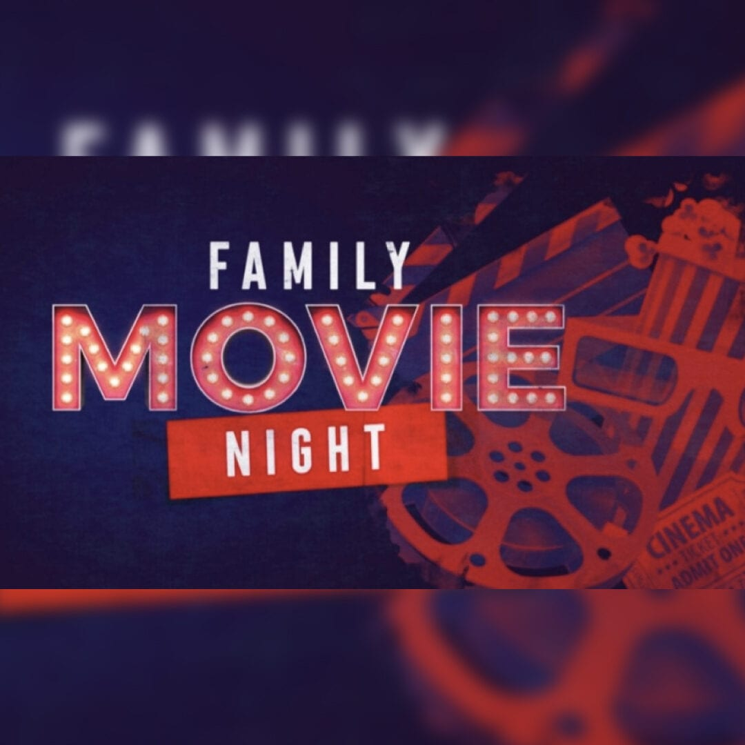 Family Movie Night on the Terrace