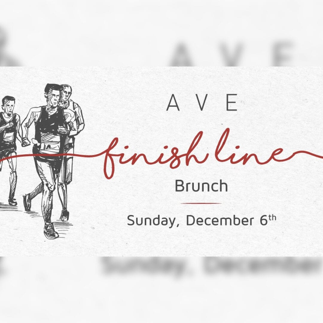 Finish Line Brunch at AVE