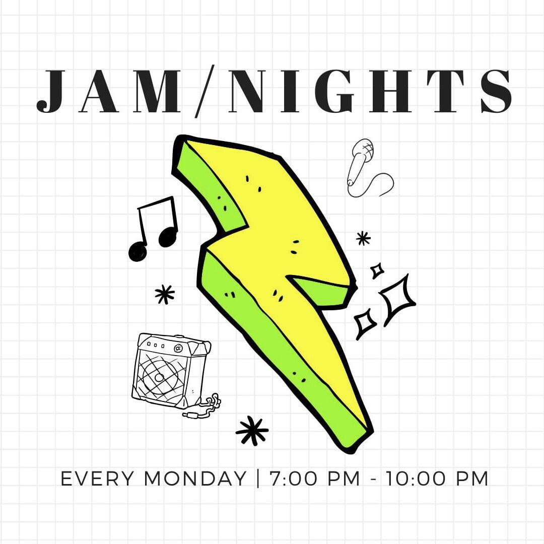 Jam Night Mondays