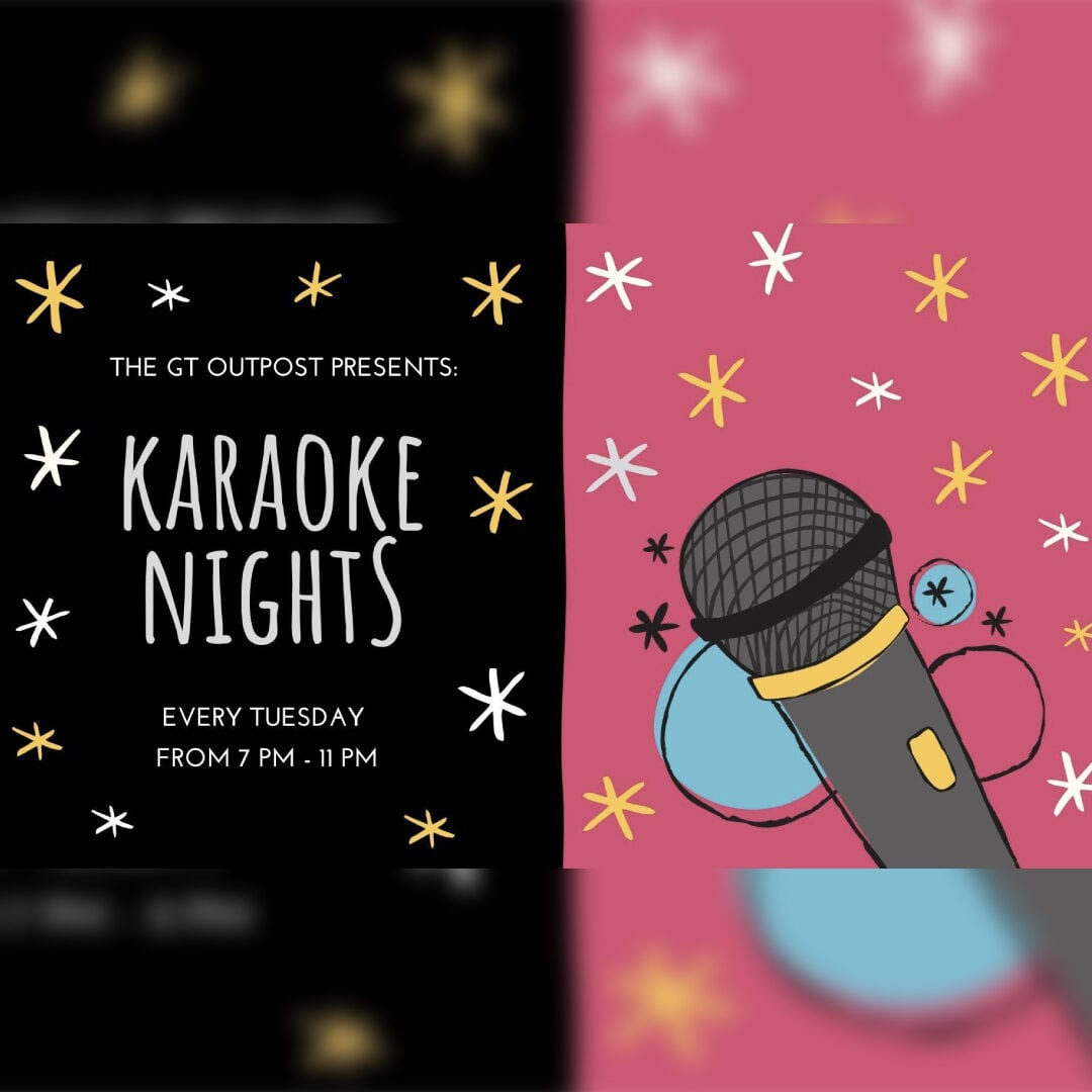 Karaoke at the GT Outpost
